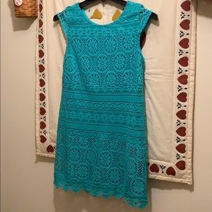 Very cute summer dress with lace detailing!
